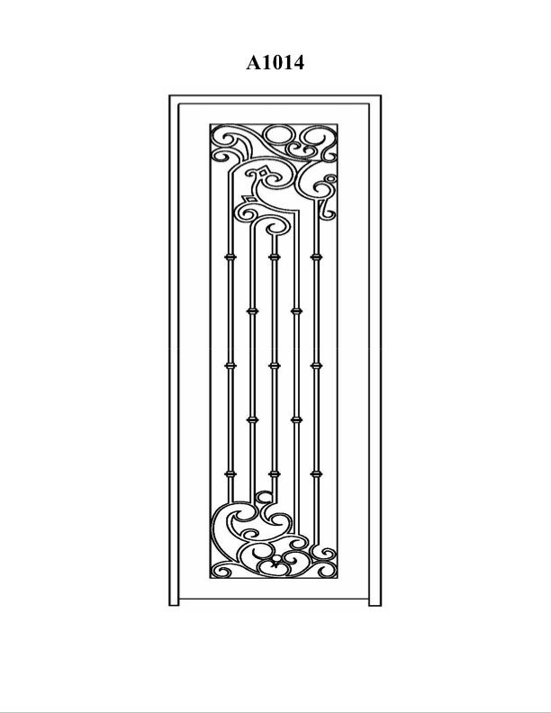 Double Doors  sc 1 st  Presidio Doors & Presidio Doors - Custom Steel Doors u0026 Windows - CAD Drawings