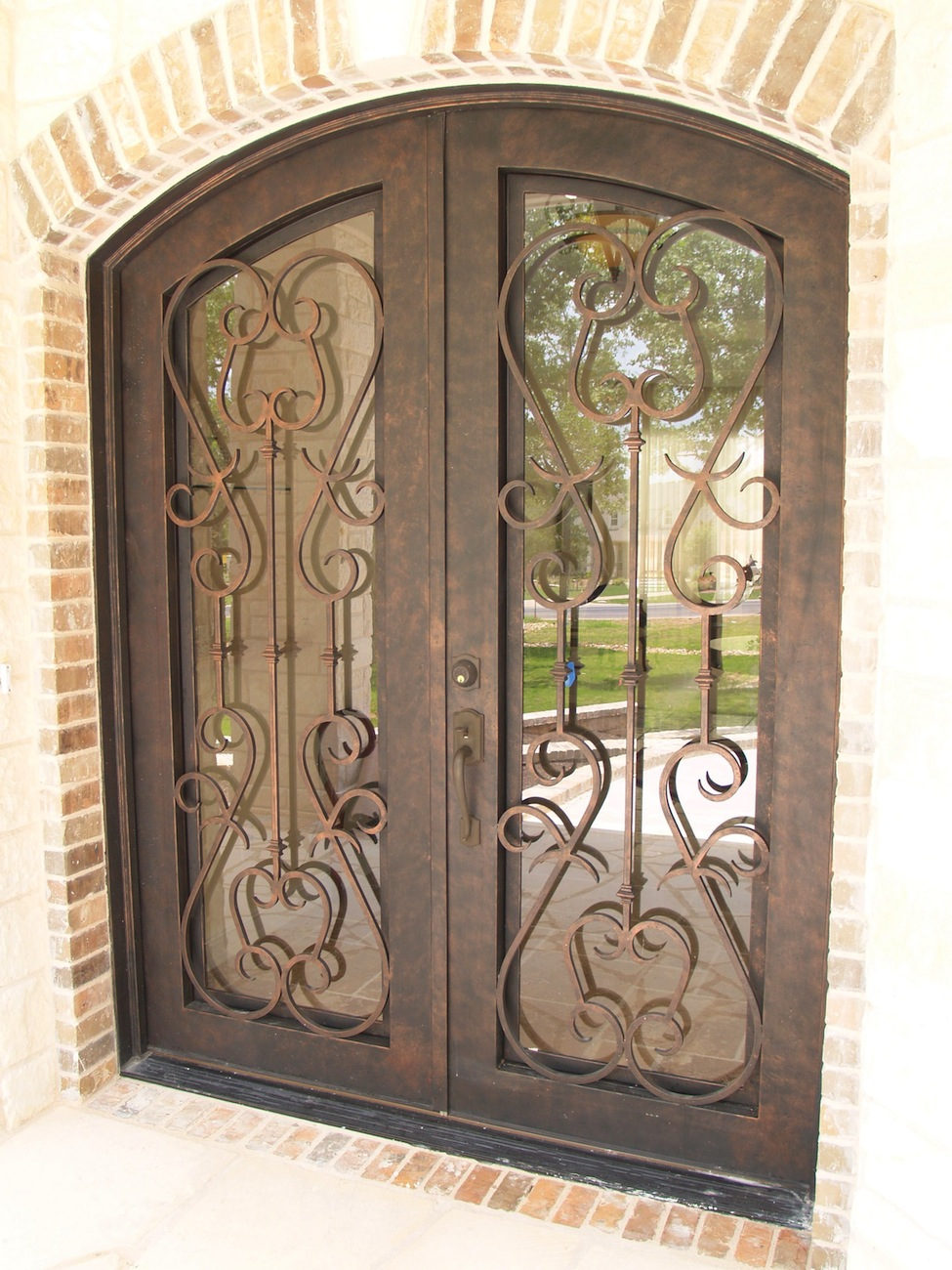 Custom Iron Ornate Door Designs Presidio Steel Doors