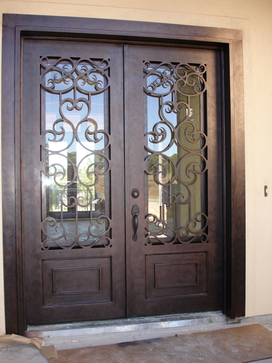 Custom Iron Ornate Door Designs Presidio Steel Doors