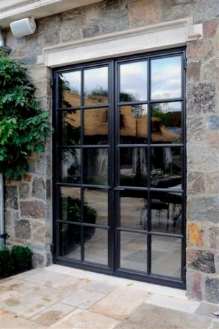Contemporary Iron Door Designs Presidio Doors