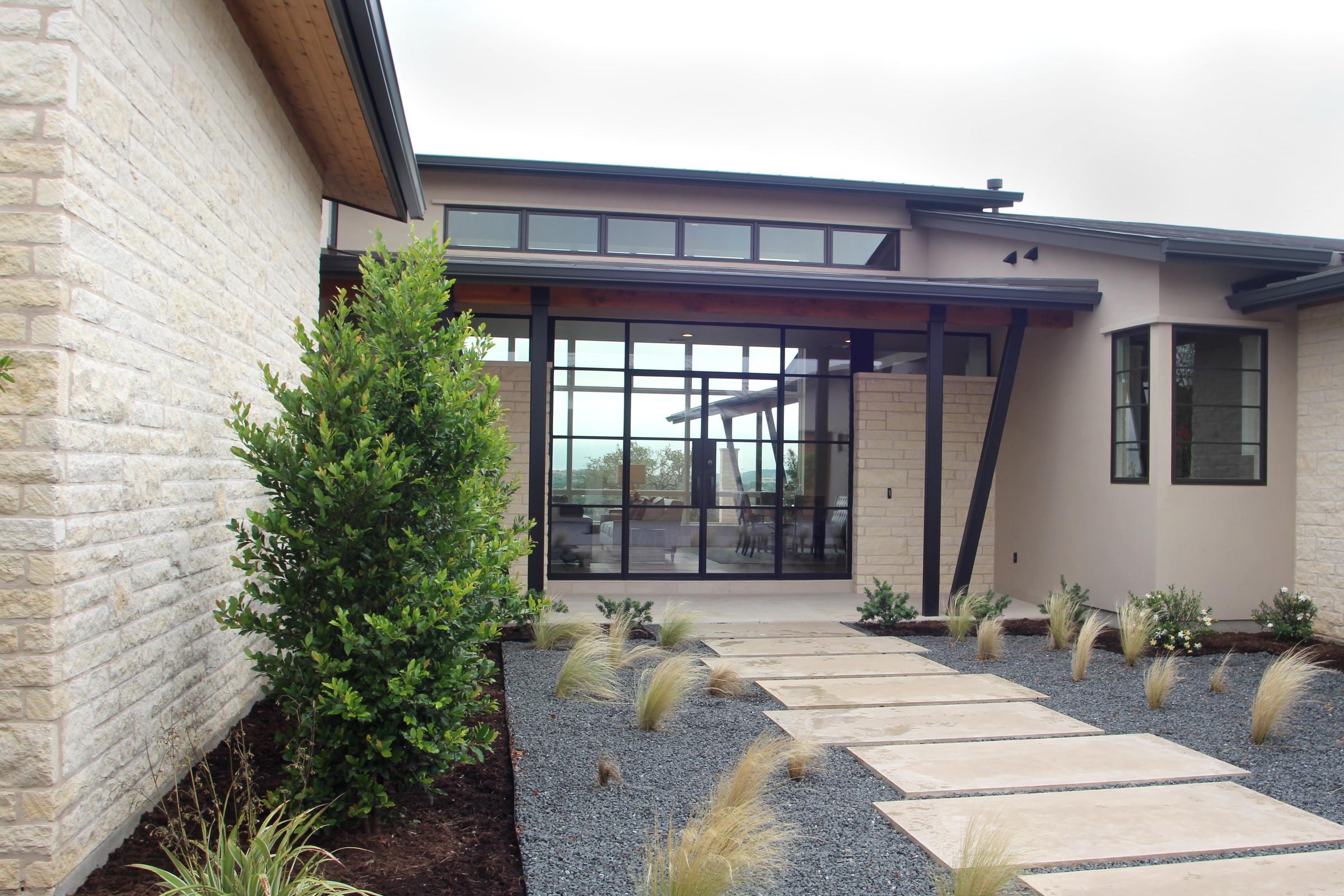 modern doors austin westlake residence by butter lutz